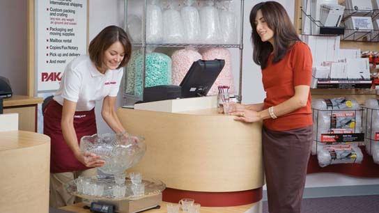 Event shipping with Pak Mail in Santee, CA