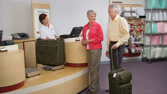 Let us help with luggage shipping