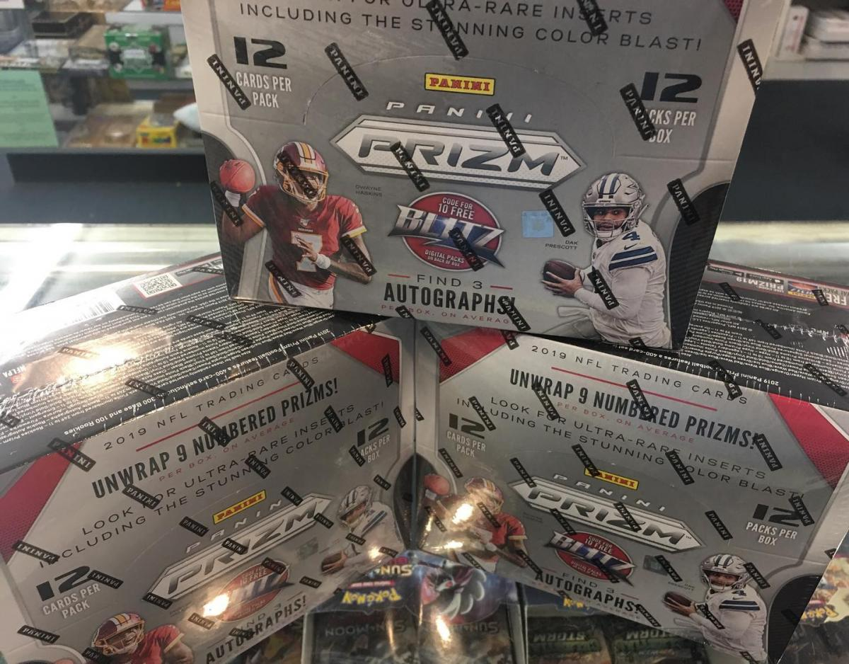 Sports Card box available at Big League Cards