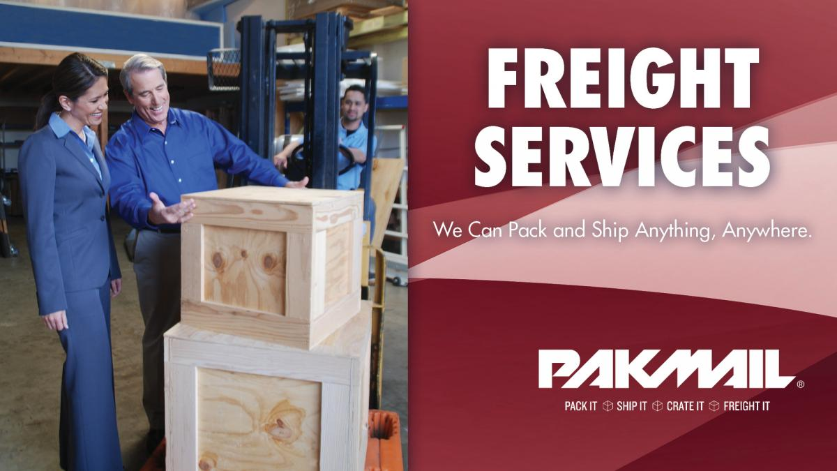 Pak Mail Freight Shipping Services