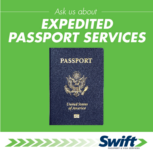 Ask Us About Expedited Passport Services
