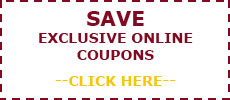 Save Exclusive Online Coupon