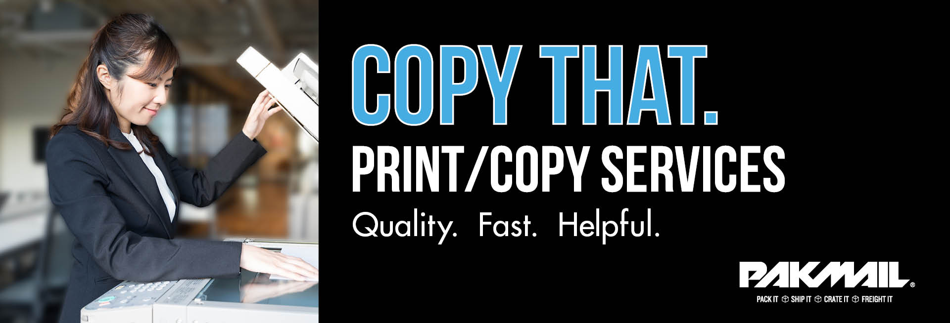 Copy That - Print/Copy Services - Quality. Fast. Helpful.